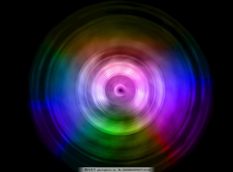 科技圆体旋转,数据,光圈,旋转圆,经济链,5G,科幻
