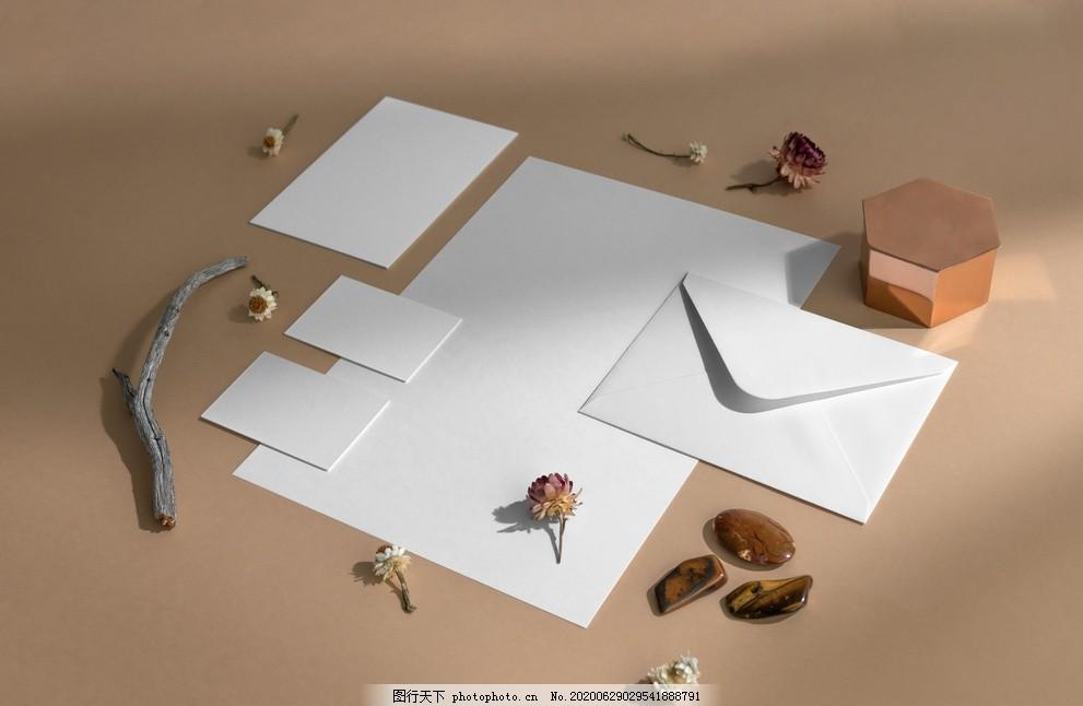 VI品牌样机,牛皮纸样机,VI样机,名片样机,vi设计,VI模版,VIS